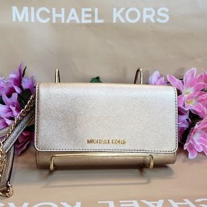 Michael kors purse crossbody CONVERTS TO wallet